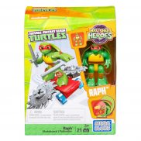 Mega Bloks Żółwie Ninja - Raph i Deskorolka DMW39