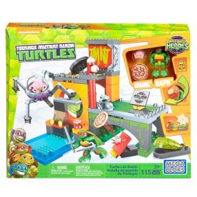 Mega Bloks Żółwie Ninja - Bitwa w kryjówce żółwi DMX12