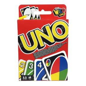 Mattel - Karty Uno Get Wild 4 UNO Wersja Polska W2087 BGY49