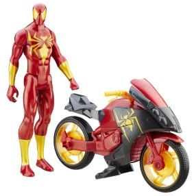 Hasbro Ultimate Spider-Man - Iron Spider i motor B6609