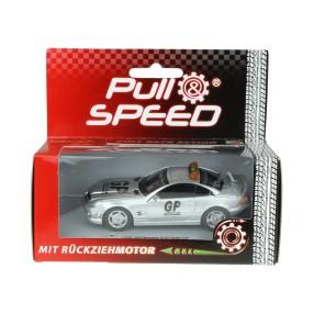 Carrera - Pull & Speed Samochód AMG Mercedes SL63 Safety car 17142