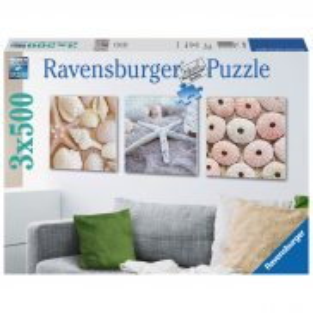 Ravensburger - Puzzle Morskie symbole tryptyk 3 x 500 elem. 199204