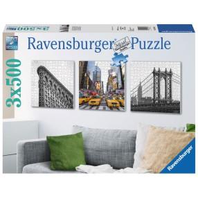 Ravensburger - Puzzle Nowy Jork tryptyk 3 x 500 elem. 199235