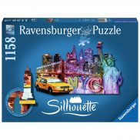 Ravensburger - Puzzle Silhouette Nowy Jork 1158 elem. 161539