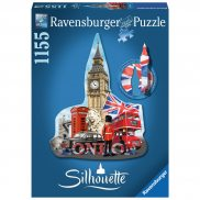 Ravensburger - Puzzle Silhouette Big Ben Londyn 1155 elem. 161553