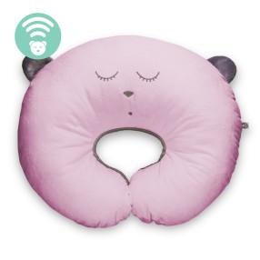 Szumisie - Poduszka do karmienia Śpiący miś Różowa 29262
