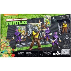 Mega Bloks Żółwie Ninja - Figurka bitewna Rocksteady DMW28