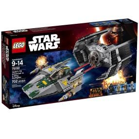 LEGO Star Wars - TIE Advanced kontra myśliwiec A-Wing 75150