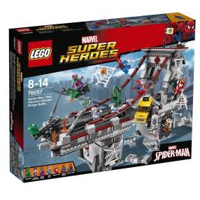 LEGO Super Heroes - Spiderman: Pajęczy wojownik 76057