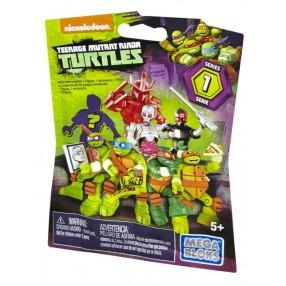 Mega Bloks Żółwie Ninja - Torebka niespodzianka z figurką Seria 1 DMX21