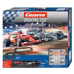 Carrera DIGITAL 132 - Night Contest + Control Unit 30189