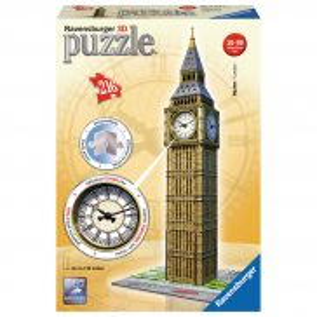 Ravensburger - Puzzle 3D Big Ben z zegarem 125869