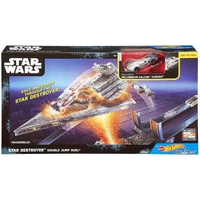 Hot Wheels Star Wars - Autostatki Gwiezdny niszczyciel - Kosmiczny skok DPV38