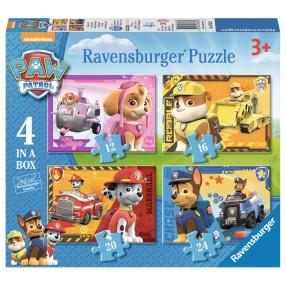 Ravensburger - Psi Patrol Puzzle 4w1 070336
