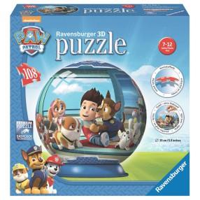 Ravensburger - Puzzle 3D Psi Patrol 108 elementów 122554
