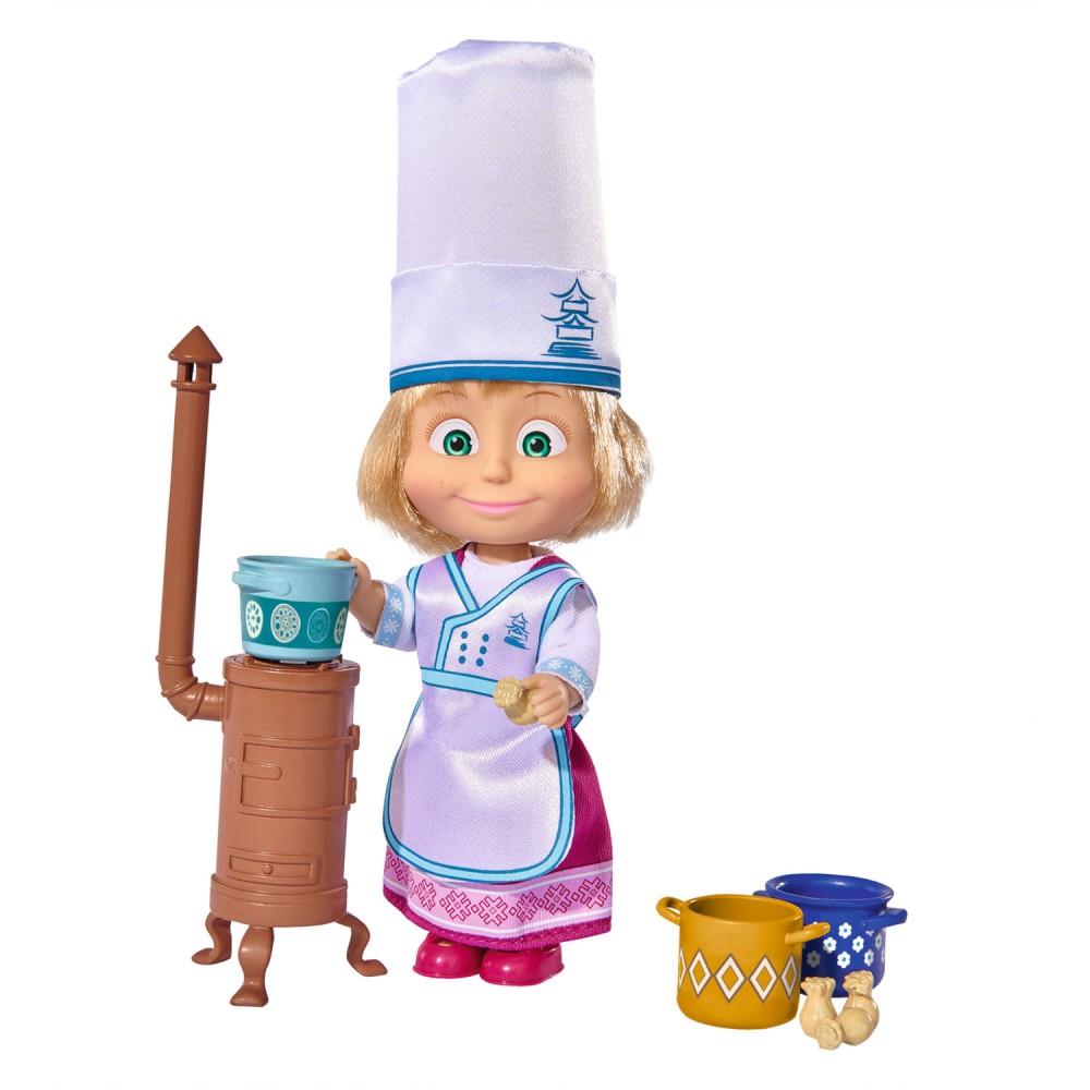 Simba Masza i Niedźwiedź - Lalka Masza kucharka 9301987