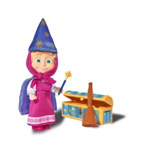 Simba Masza i Niedźwiedź - Lalka Masza magiczne sztuczki 9302024