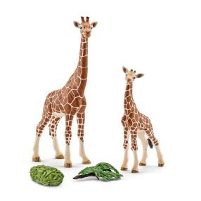 Schleich - Żyrafa - Samica z młodym 42320