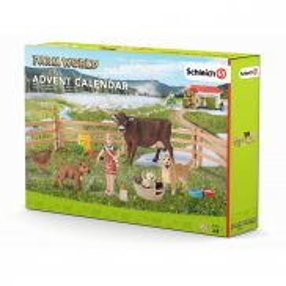 Schleich - Kalendarz adwentowy Życie na farmie 97335