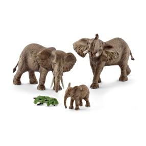 Schleich - Słoń Afrykański - Rodzina 42337