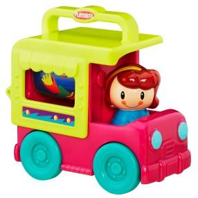 Hasbro Playskool - Mini cieżarówki Samochód z lodamu B4895