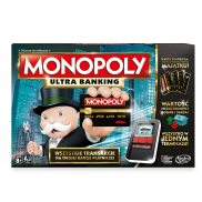 Hasbro - Gra Monopoly Ultra Banking B6677