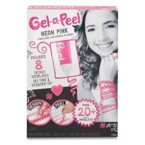 Gel-a-Peel - Zestaw Podstawowy Magiczny żel Tuba NEON Róż 518709