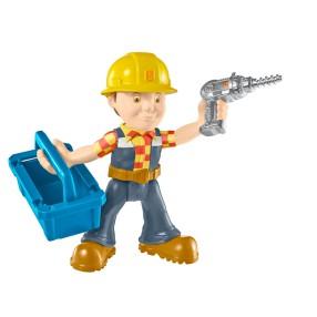 Fisher-Price Bob Budowniczy - Figurki z narzędziami Bob z wiertarką DHB06