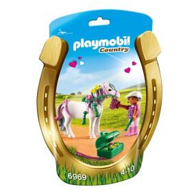 """Playmobil - Kucyk z ozdobą """"Serduszko"""" 6969"""