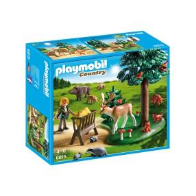 Playmobil - Polanka z karmą dla zwierząt 6815