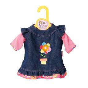 Zapf Creation Dolly Moda - Sukienka Jeansowa dla lalki 38-46 cm 870006