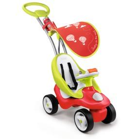 Smoby - Jeździk wielofunkcyjny Bubble Go Czerwony 720103