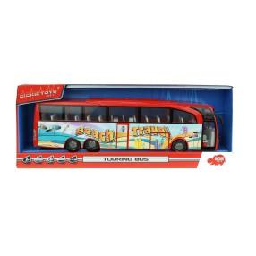Dickie - Autobus turystyczny Beach Travel Bus Czarwony 3745005 B