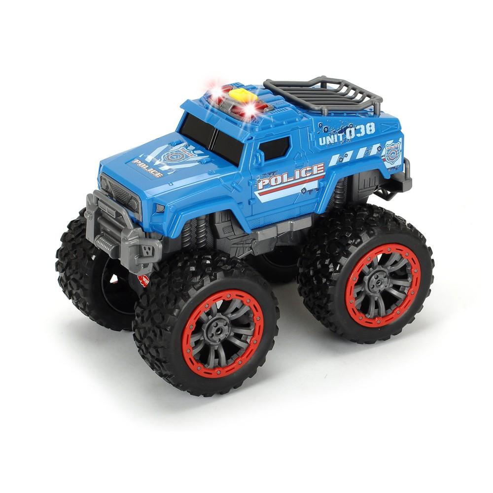 Dickie - Samochód policyjny ze światłem i dźwiękiem Swat Unit 3304001