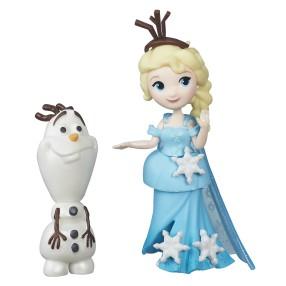 Hasbro Disney Princess - Mini laleczki Kraina Lodu Elsa z Olafem B5186