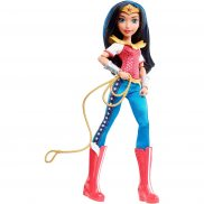 Mattel DC Super Hero Girls - Lalka Superbohaterka Wonder Woman DLT62
