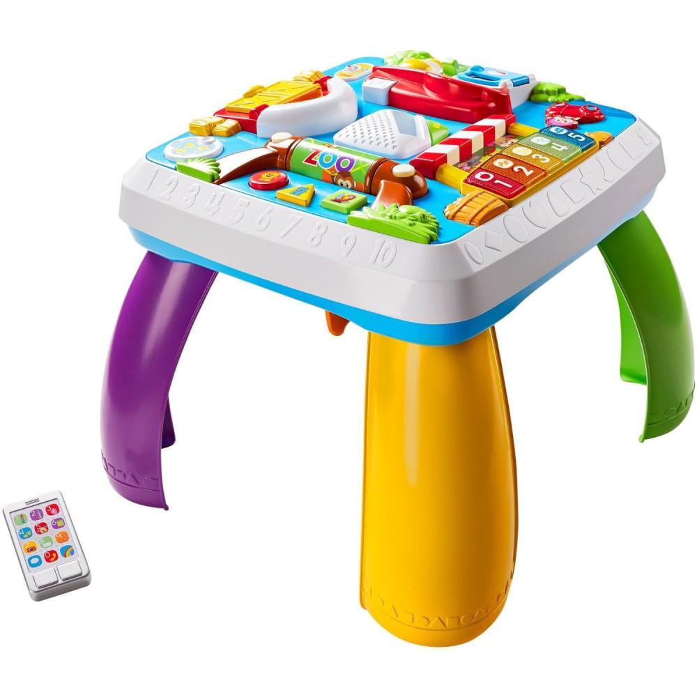 Fisher-Price - Edukacyjny stolik malucha Poziomy Nauki Wersja PL DRH37