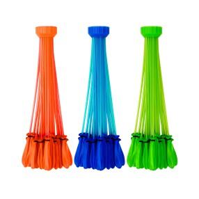 Bunch O Balloons - Wodne balony 3-pak Niebieski Pomarańczowy Zielony 01213B