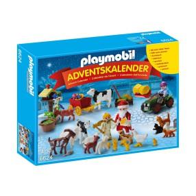 Playmobil - Kalendarz adwentowy - Święta w gospodarstwie rolnym 6624