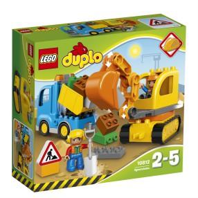 LEGO Duplo - Ciężarówka i koparka gąsienicowa 10812