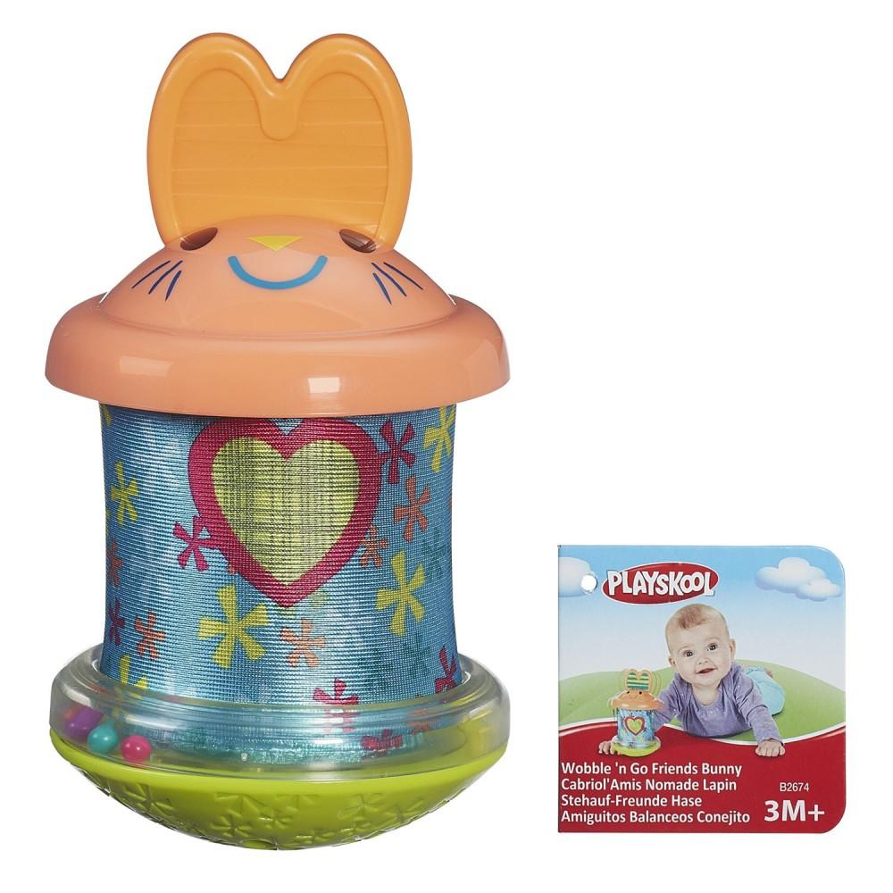 Hasbro Playskool - Wobble n Go Kiwaczek Króliczek B2674