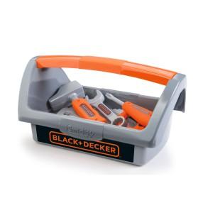 Smoby - Black & Decker Podręczna skrzynka z narzędziami 360101