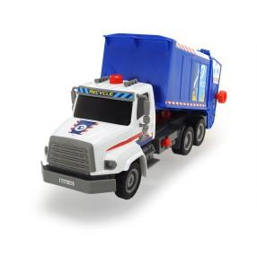 Dickie - Air Pump Eko śmieciarka z pompką 33 cm 3806002