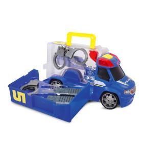 Dickie - SOS Wóz policyjny z zestawem akcesoriów 3716005