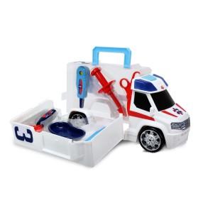 Dickie - SOS Ambulans z zestawem lekarskim 3716000