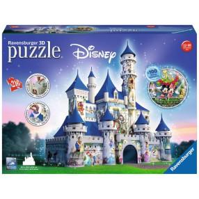 Ravensburger - Puzzle 3D Zamek Disneya 216 elem. 125876