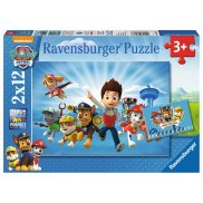 Ravensburger - Psi Patrol i Ryder Puzzle 2 x 12 elem. 075867