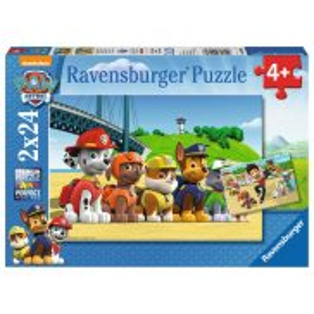 Ravensburger - Psi Patrol Bohaterskie Psy Puzzle 2 x 24 elem. 090648
