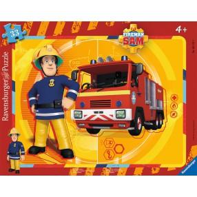 Ravensburger - Strażak Sam Gotowy na wszystko Puzzle 15 elem. 061259
