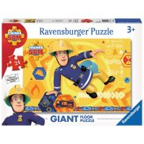 Ravensburger - Strażak Sam Bohater Puzzle podłogowe 24 elem. 054466